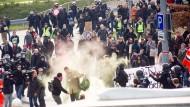 Proteste begleiten Parteitag der AfD