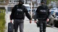 Polizeieinsatz nach den Schüssen in Utrecht