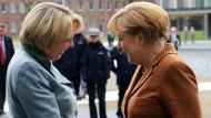 Sie können es: Angela Kraft und Hannelore Merkel