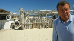 Ist am Strand eine Steckdose?