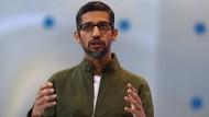 """Googles CEO Sundar Pichai will den Nutzern mehr """"digitales Wohlbefinden"""" vermitteln."""