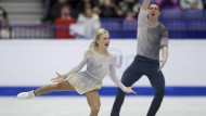 Europameisterschaft in Tschechien: Aliona Savchenko und Bruno Massot holen die Silbermedaille.