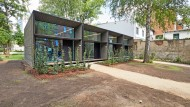 Nachverdichtung im Innenhof: Tiny Houses in Hannover