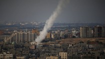 Kam die in Israel eingeschlagene Mörsergranate aus Gaza? Die Hamas dementiert den Angriff. Dieses Bild wurde vor der Waffenruhe aufgenommen.