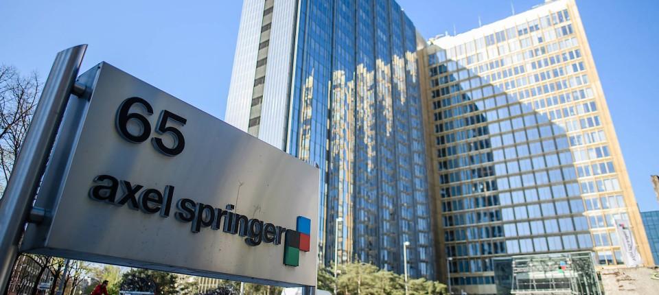 """Springer fordert von der """"Welt""""-Gruppe ein Mindestergebnis"""