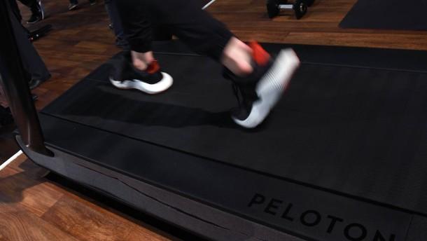 Fitnessgerätehersteller Peloton ruft 125.000 Laufbänder zurück
