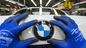 BMW gesteht Fehler bei Software für Dieselfahrzeuge ein