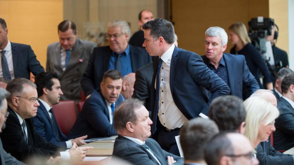 AfD verlässt Gedenkfeier im bayerischen Landtag