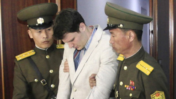 Nordkorea streitet Misshandlung von Otto Warmbier ab