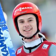Andreas Wank während der Vierschanzentournee 2015 in Garmisch-Partenkirchen