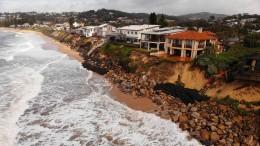 Australiens Ostküste droht der Abbruch