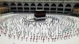 Hadsch mit nur 1000 Pilgern hat begonnen