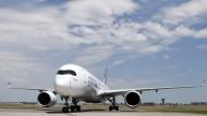 Fortschritt: Neue Jets wie der Airbus A350 sind sparsamer und leiser als altes Fluggerät.