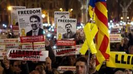 Proteste gegen Inhaftierung von Politikern