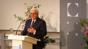 "Steinmeier: ""Merkwürdige Lust am Untergang"""