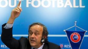 """""""Noch nicht beschädigt"""": Uefa-Präsident Michel Platini"""