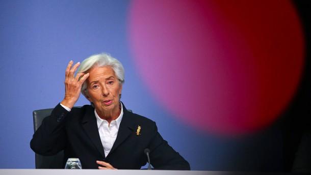 EZB entscheidet über weiteres Vorgehen in Corona-Krise