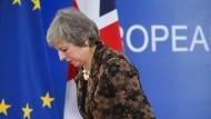 Die britische Premierministerin Theresa May im Dezember in Brüssel