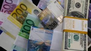 Analysten rechnen mit fallendem Euro-Kurs