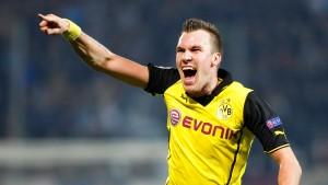Großkreutz rettet die Borussia