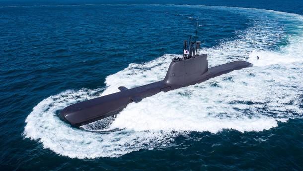 Deutschland genehmigt Lieferung von U-Booten in die Türkei