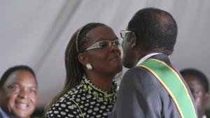 Eine Farm für Frau Mugabe