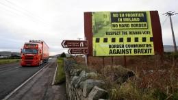 Wo der Brexit  an eine Grenze stößt