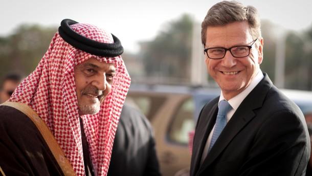 Aussenminister Westerwelle besucht Saudi-Arabien