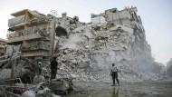 Syrien und Russland stoppen Luftangriffe auf Ost-Aleppo