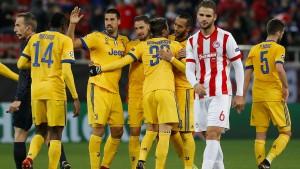 Juventus weiter, Atletico raus
