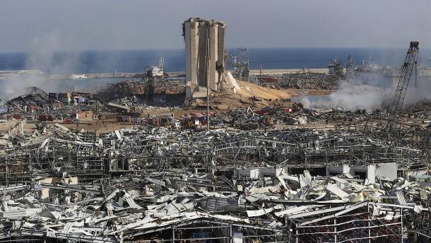Deutschland will Wiederaufbau des Hafens von Beirut leiten