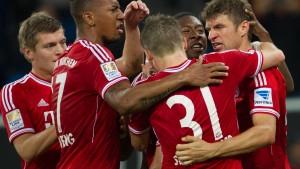 Bayern stellt Liga-Rekord ein