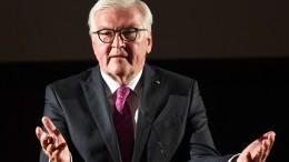 """Steinmeier: """"Tiefe Risse gehen durch unsere Gesellschaft"""""""