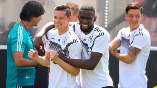 DFB-Team ist fast vollständig