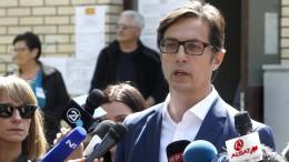 Präsidentenwahl in Nordmazedonien geht in zweite Runde