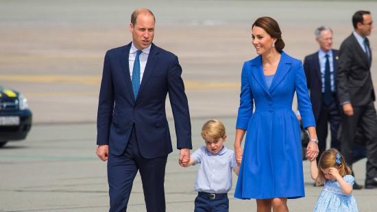 William und Kate mit Kindern zu Besuch in Deutschland