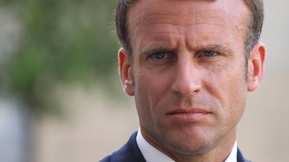 Sieht Fortschritte in der Flüchtlingsfrage: Frankreichs Präsident Emmanuel Macron