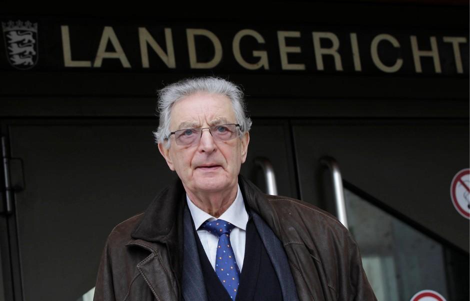 Früher Minister, heute Zeuge: Der ehemalige Bundesinnenminister Gerhart Baum (FDP)