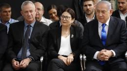 Netanjahu und Herausforderer Gantz ohne Mehrheit