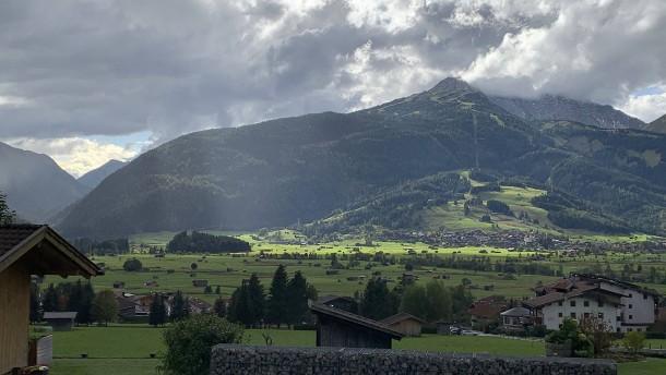 Über alle Berge