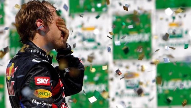 """""""Ich habe Mark dann vorbei gelassen"""": Das große Rad bei Red Bull dreht nur Vettel"""