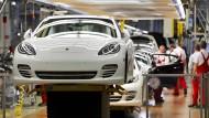 Bis zum Porsche reicht's noch nicht für jeden.
