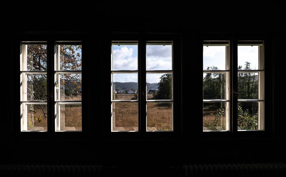 Blick ins Freie: Im Ubbelohde-Haus geht es auch um literarische Naturerkundung.