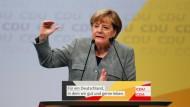 Merkel erteilt E-Auto-Quote eine klare Absage