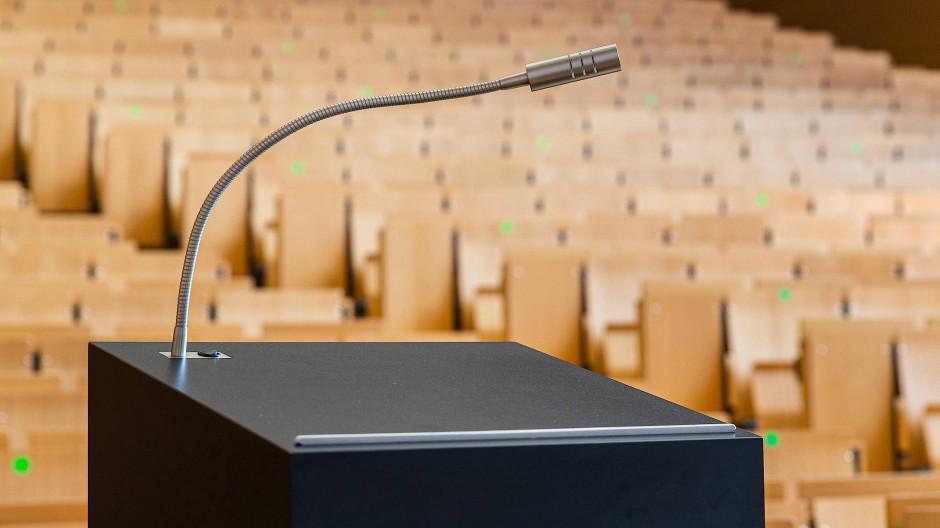 Umkämpft: die Rede- und Meinungsfreiheit an den Hochschulen