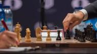 Das elfte Spiel der Schach-WM in New York