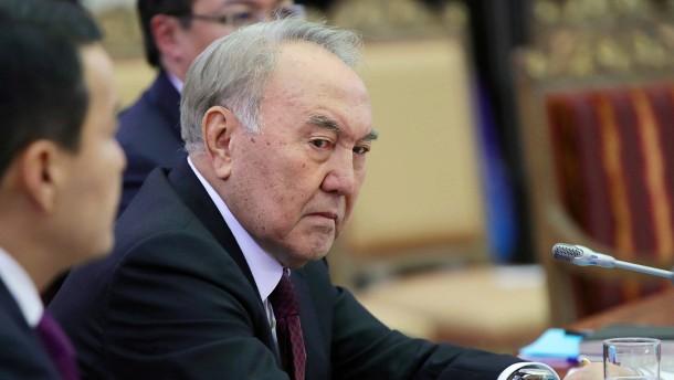 Kasachstan präsentiert sich als Vorbild für die Welt