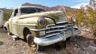 Die Reifen müssten erneuert werden, das bisschen Rost wäre kein Problem: Chrysler aus den fünfziger Jahren