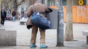 Armut vor allem in deutschen Großstädten