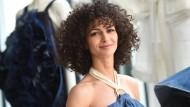 Nobieh Talaei 2016 auf der Modemesse in Berlin